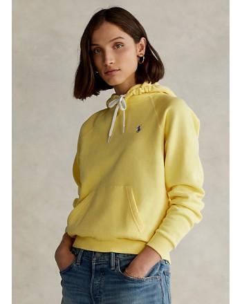 POLO RALPH LAUREN KIDS - Cotton Hoodie - Yellow