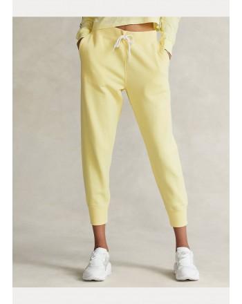 POLO RALPH LAUREN  - Fleece Logo Joggers - Yellow