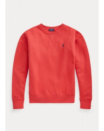 POLO RALPH LAUREN - Fleece Pullover - Red