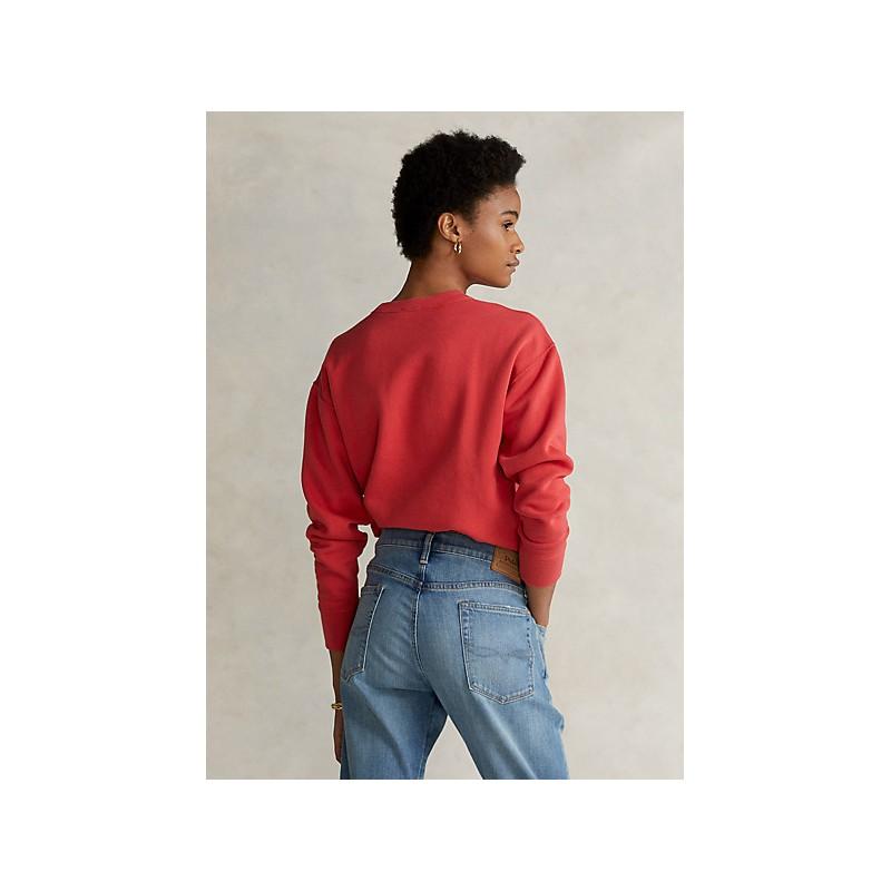 POLO RALPH LAUREN - Pullover in Felpa - Red