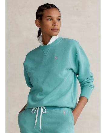 POLO RALPH LAUREN - Pullover in Felpa - Tiki Green