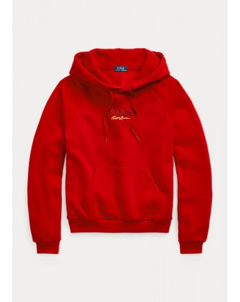 POLO RALPH LAUREN - Logo Hoodie - Red