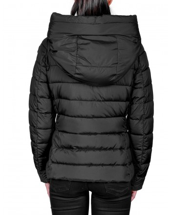 INVICTA - Quilted Down jacket with Hood - Black
