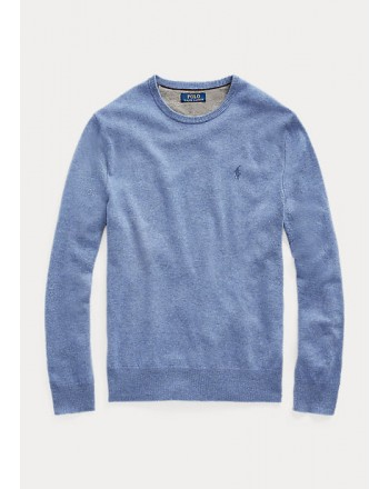 POLO RALPH LAUREN - Maglia a girocollo in lana merino 710667378 - Cartazucchero