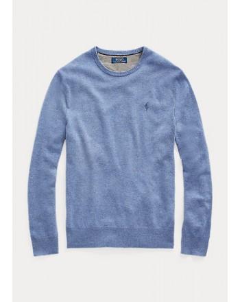 POLO RALPH LAUREN - Merino wool crewneck sweater 710667378 - Cartazucchero