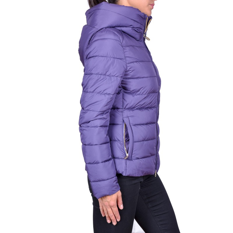 INVICTA - Quilted Piunino with Hood - Purple