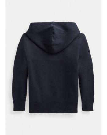 POLO RALPH LAUREN - Hooded sweater 710850118 - Blue
