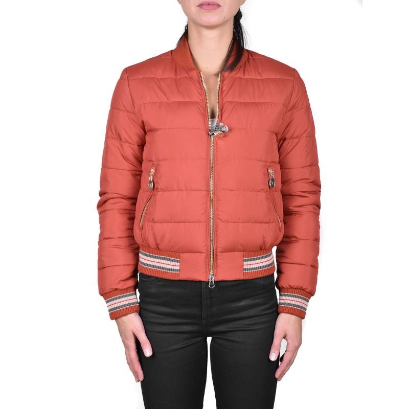 INVICTA - Bomber jacket without Hood - Orange