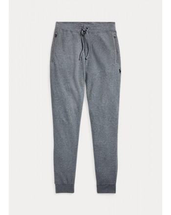 POLO RALPH LAUREN - Pantaloni da jogging in pregiato jersey 710652314 - Grigio