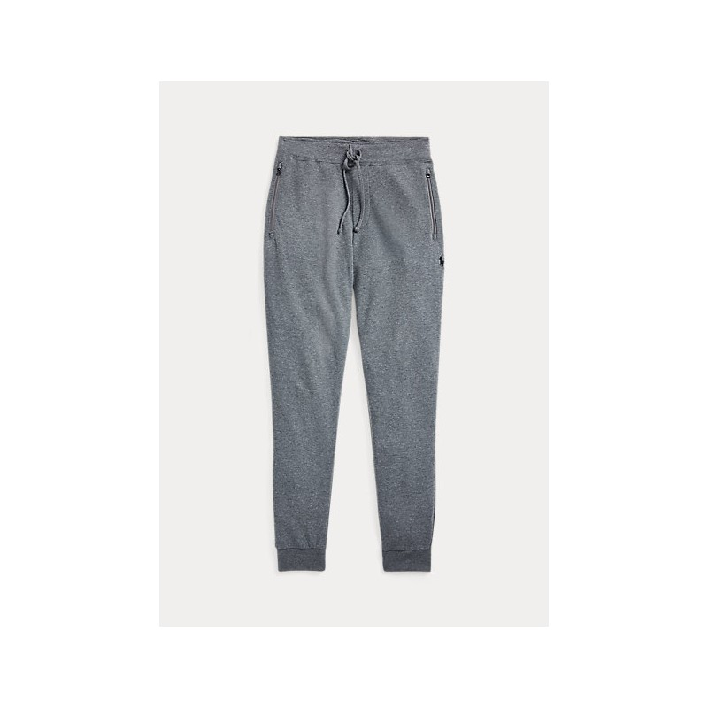 POLO RALPH LAUREN - Jogging trousers in fine jersey 710652314 - Gray