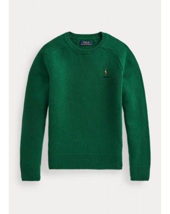 POLO RALPH LAUREN - Wool crewneck sweater 321/322850966 - New forest