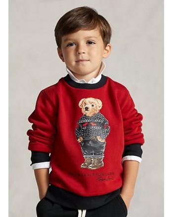 POLO RALPH LAUREN - Bear Polo Sweatshirt 322853820 - Red