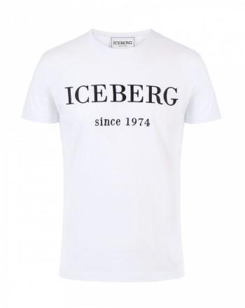 ICEBERG - Logo T-Shirt - White