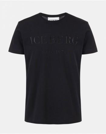 ICEBERG - Logo T-Shirt - Black