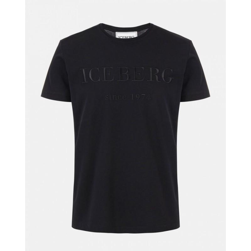 ICEBERG - T-Shirt con Logo - Nero
