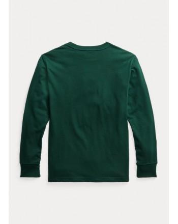 POLO RALPH LAUREN - Maglietta Polo Bear in jersey 321/3228520 - Verde