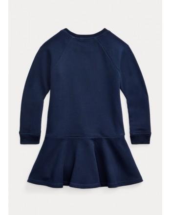 POLO RALPH LAUREN - Polo Bear sweatshirt dress 311/312856712 - Blue