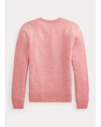 POLO RALPH LAUREN - Wool sweater - Pink