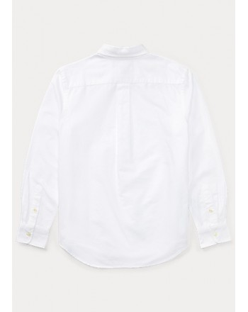 POLO RALPH LAUREN - Slim-Fit Cotton Oxford Shirt 322819238 - White