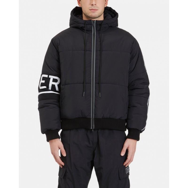 ICEBERG - Wool Cuff Down Jacket - Black
