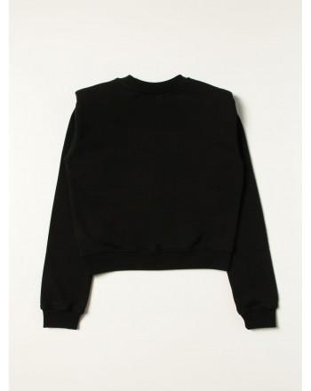 MSGM - MS027805 logo sweatshirt - Black