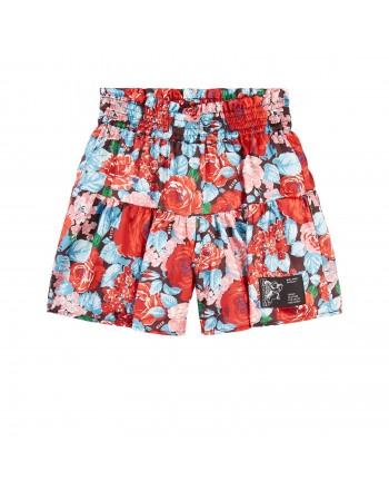 MSGM - pantaloncino raso twill bambina MS027781 - Multicolor