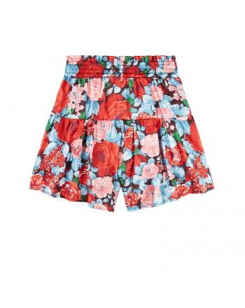 MSGM - pantaloncino raso twill girl MS027781 - Multicolor