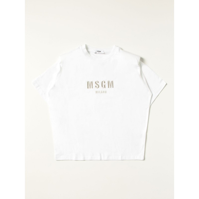 MSGM - MS027794 short sleeve T-Shirt - White