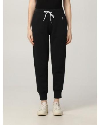 POLO RALPH LAUREN  - Fleece Logo Joggers - Black