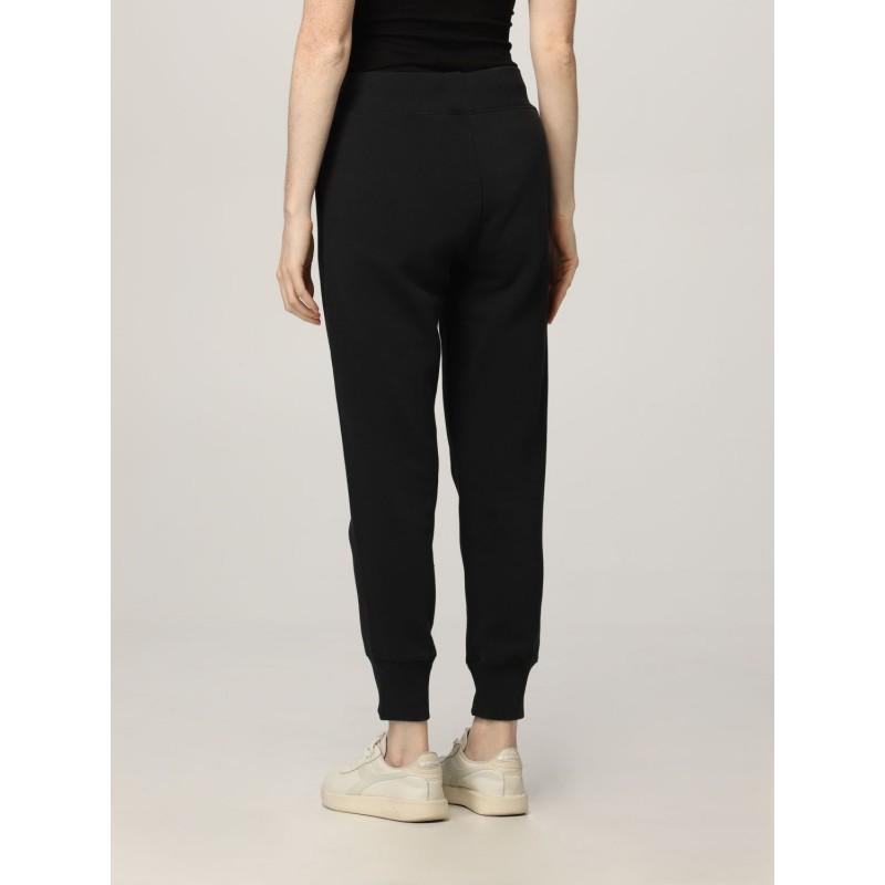 POLO RALPH LAUREN -Pantaloni in Felpa con Logo - Nero