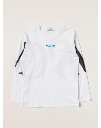 MSGM - Long sleeve T-Shirt MS027908 - White