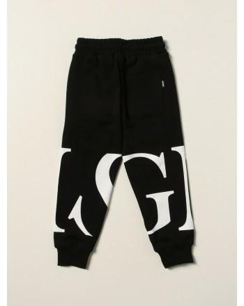MSGM - Pantalone felpa boy MS027909 - Nero