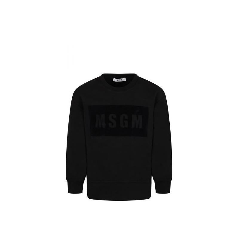 MSGM - Boy MS028708 Sweatshirt - Black
