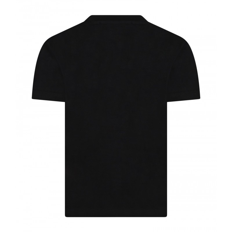 MSGM - T-Shirt jersey boy MS028711 - Nero