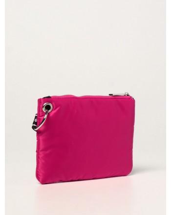 MSGM - Girl nylon padded clutch MS027725 - Fuchsia