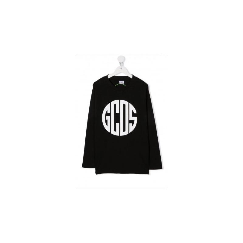 GCDS BABY - Top con stampa 028454 - Nero