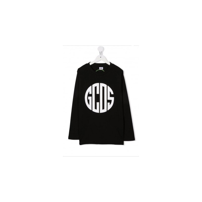 GCDS BABY - Top with print 028454 - Black