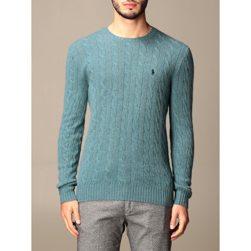 POLO RALPH LAUREN - Polo Ralph Lauren wool and cashmere sweater 710719546 - Cartazucchero