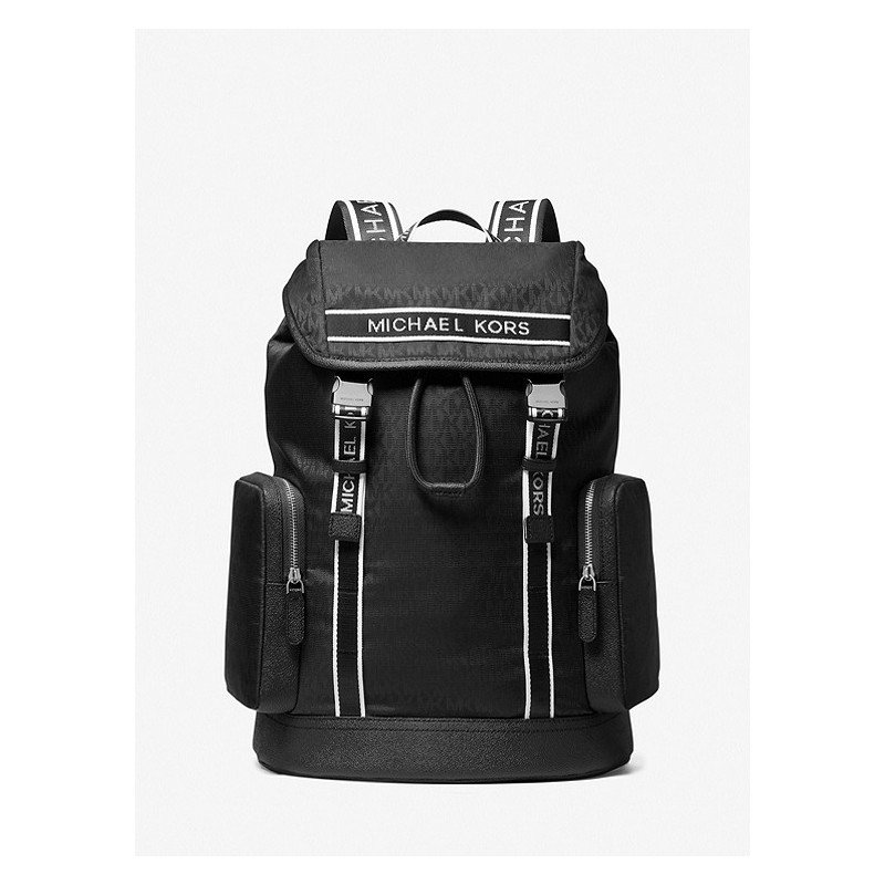 MICHAEL by MICHAEL KORS - KENT Logo Backpack - Black
