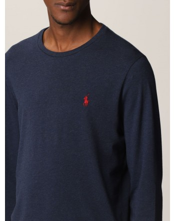 POLO RALPH LAUREN - Polo Ralph Lauren cotton T-shirt 710671468 - Ink