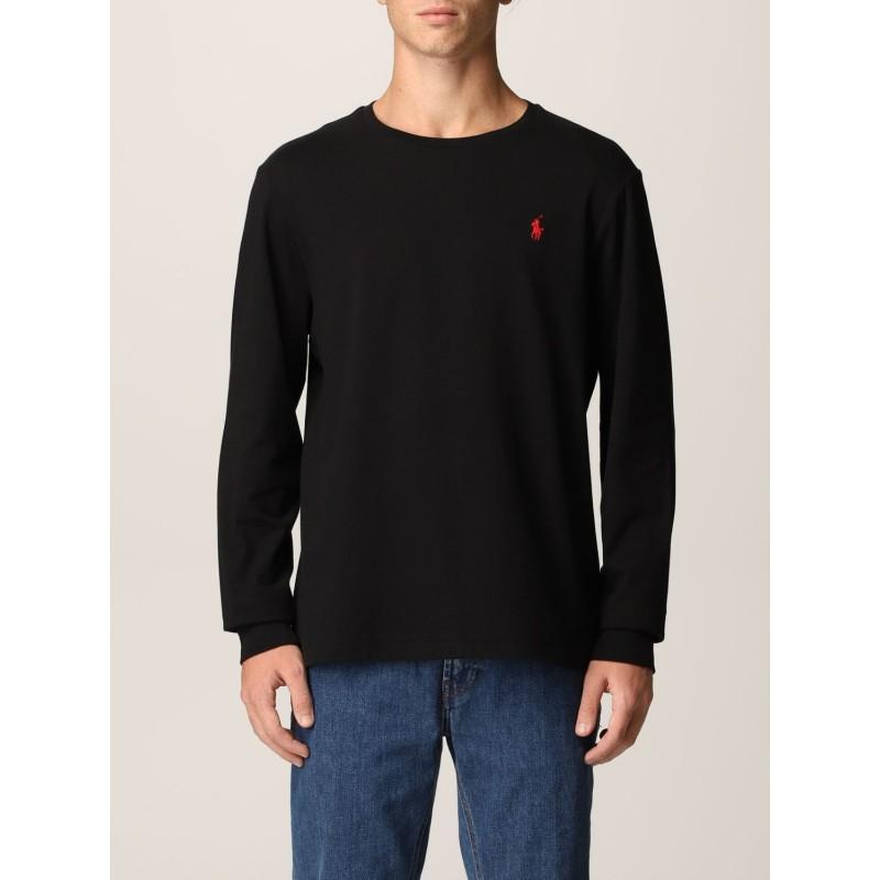 POLO RALPH LAUREN - Polo Ralph Lauren cotton T-shirt 710671468 - Black