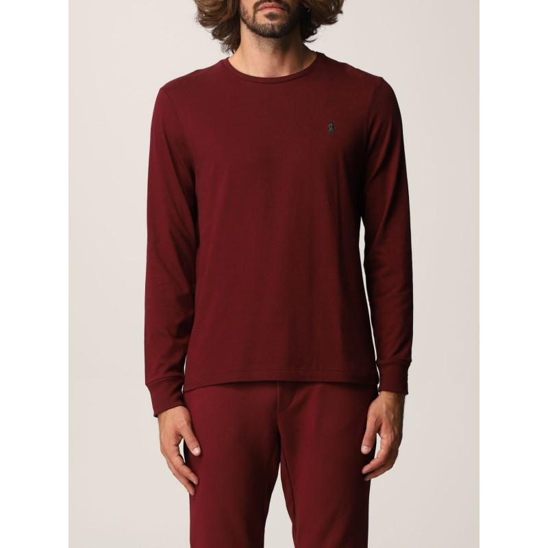 POLO RALPH LAUREN - Polo Ralph Lauren cotton T-shirt 710671468 - Wine