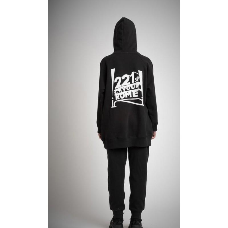5 PREVIEW - Ellis bandit sweatshirt - Black