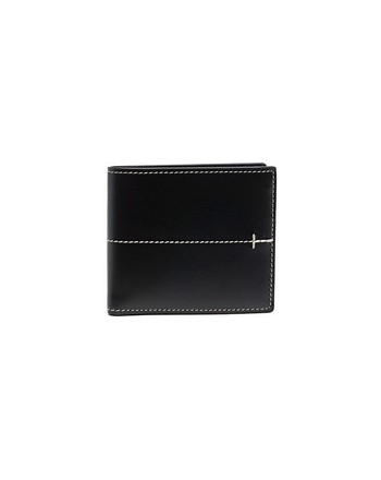 TOD'S Leather Wallet - Black
