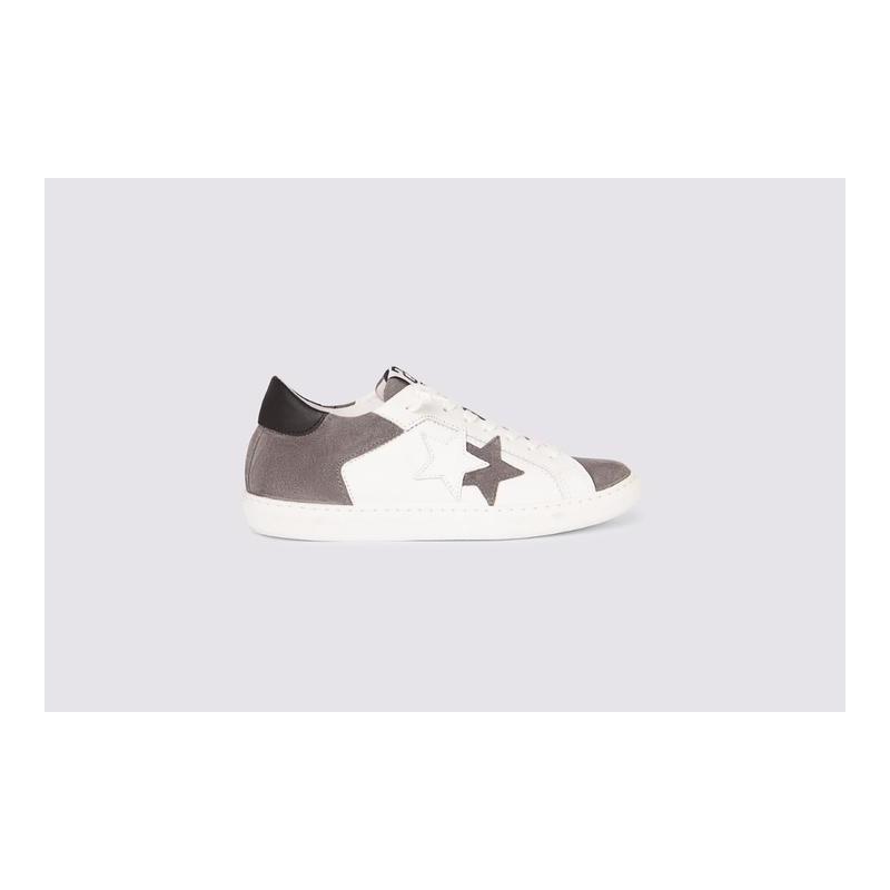 2 STARS - Men's sneaker 2SU3243-093 - White