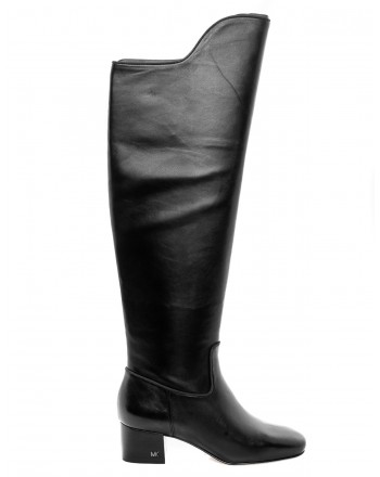 MICHAEL di MICHAEL KORS - Leather Boots BLAINE  - Black