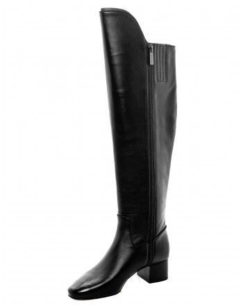 MICHAEL di MICHAEL KORS - Leather Boots BLAINE  - Black