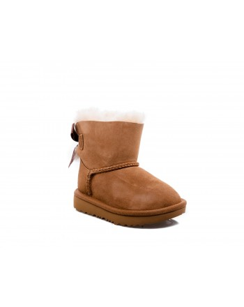 UGG BABY - Stivale MINI BAILEY in Pelle scamosciata - Chestnut