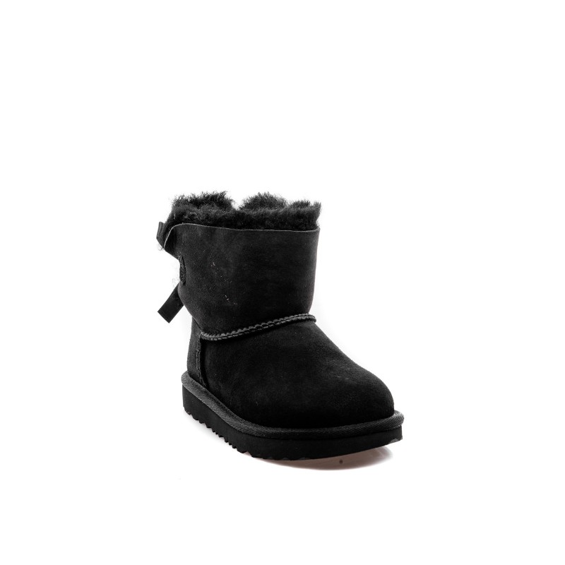 UGG BABY -  Suede MINI BAILEY Boots - Black