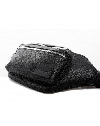 CALVIN KLEIN - Eco Leather Pouch - Black